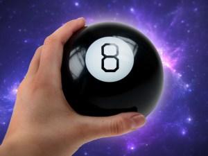 gave til pakkelegen, sjove gaver, sjove gaver til børn, mystic 8 ball, magisk 8 ball,
