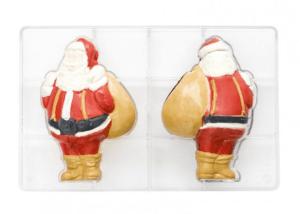 julemand kageform, julemand chokoalde form, julebag med julemanden, juemanden bage udstyr, julemanden chokolade, lav julemanden i chokolade