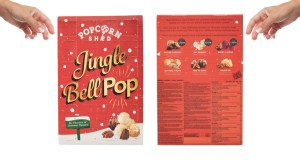 popcorn julekalender, unikke julekalender, anderledes julekalender, julekalender til børn, slik julekalender til voksne, slik julekalender til voksne, julekalender med popcorn, julekalender 2019
