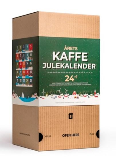 kaffe julekalender, julekalender med kaffe, voksen julekalender, julekalender til voksne, anderledes julekalendere til voksne,