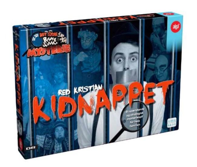 Kidnappet brætspil, brætspil til børn, Det store ramasjang mysterie, Det store ramasjang mysterie brætspil, mandelgaver, mandelgave ideer, ideer til mandelgaven,