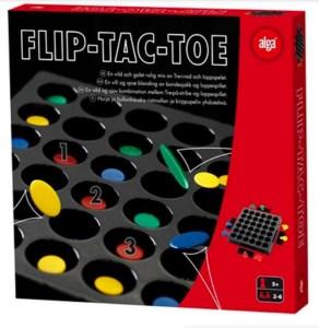 Flip tac toe, brætspil til familier, familie spil, julegaver til børn,