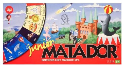 Matador brætspil, Matador spil, Matador junior spil, junior spil af matator, brætspil til familier, julegaver til børn