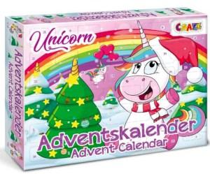 enhjørning julekalender, julekalender med enhjørning, pige julekalender, julekalender til børn, julekalender til piger