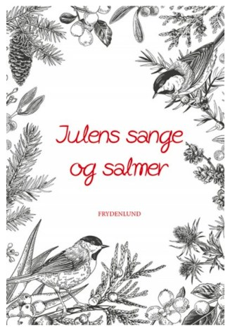 Julens Sange og Salmer, julens sange hæfte, julesangbog, julesanghæfter, bog med julesange, julesang hæfte