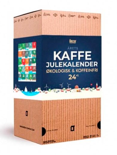 Økologisk kaffe julekalender, julekalender med økologisk kaffe, kaffe julekalender, coffee julekalender, økologisk julekalender, voksen julekalender, kaffe julekalender 2021, 2021 økologisk julekalender, Økologiske julekalendere