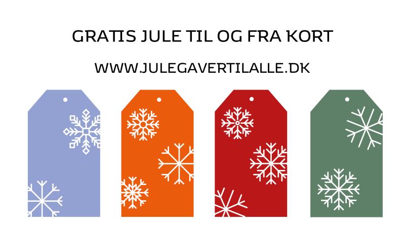 til og fra kort, gratis til og fra kort, jule til og fra kort, gratis julekort, julepynt, gratis julepynt, print selv julepynt