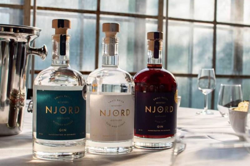 Ginsmagning på Njord Gin Distillery, Njord Gin Distillery, oplevelsesgaver til ham, oplevelsesgaver til hende, oplevelser med Gin