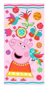 Gurli gris håndklæde, håndklæde med Gurli gris, Gurli gris gave, gave med Gurli Gris