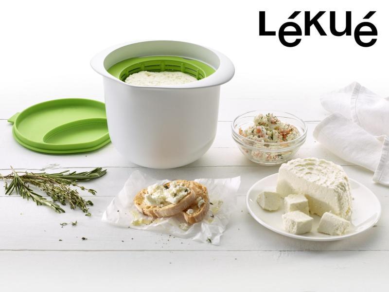 Lékué Cheese Maker, lav din egen ost, hvordan laver man sin egen ost, oste laver maskine, lav ost, gaver til bedstemod, gaver til mormor,