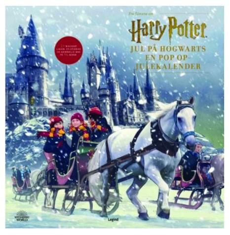 Harry potter bog juleklaender, jule bøger med Harry Potter, Julekalendere med Harry Potter, 2021 julekalender, juleklaender til børn, børne julekalender