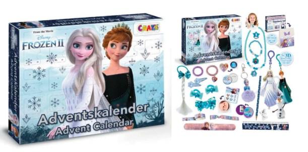 Frost 2 julekalender 2021, 2021 Frost julekalender, Frozen julekalender, Frost 2 pakkekalender med legetøj, legetøjsjulekalender med Frost 2, Pakkekalender til piger, Legetøjs pakkekalender med Frost 2 2021, julekalender til piger 2021
