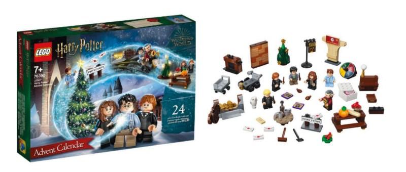 Lego Harry potter julekalender, julekalender med Harry Potter, Julekalendere med Harry Potter, julegaver med Harry Potter, Julekalender 2021, Julekalender 2022