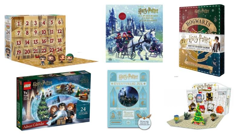 julekalendere til harry potter, Harry potter julekalender 2021, gaver med Harry potter, julekalender 2021, julekalender 2022, Julekalender til børn, de bedste julekalendere i 2021,