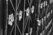 Brüstung Metallblumen Notre-Dame Pariser Chic Französisches Flair