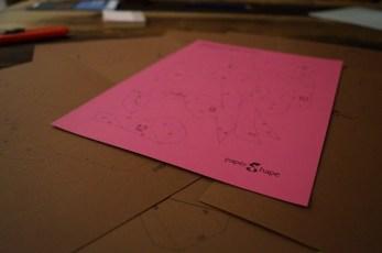 Anastasia Baron, PaperShape, pflegeleichtes Haustier, 3D-Origami, Kuhtherapie