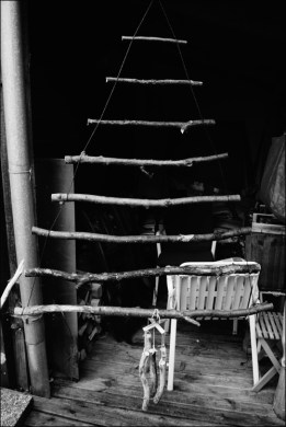 DIY Weihnachtsbaum, DIY Christbaum, Weihnachtsbaum selber machen, Christbaum selber machen, Weihnachtsbaum aus Ästen, Christbaum aus Ästen, Weihnachtsstern aus Butterbrottüten