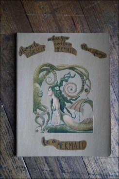 Always be yourself, Clairefontaine Notizbuch, DIY-Notizbuch, mermaid, Notizbuch gestalten, Notizbuch selber machen, unicorn