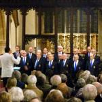 Jules Addison Director of Cirencester Male Voice Choir