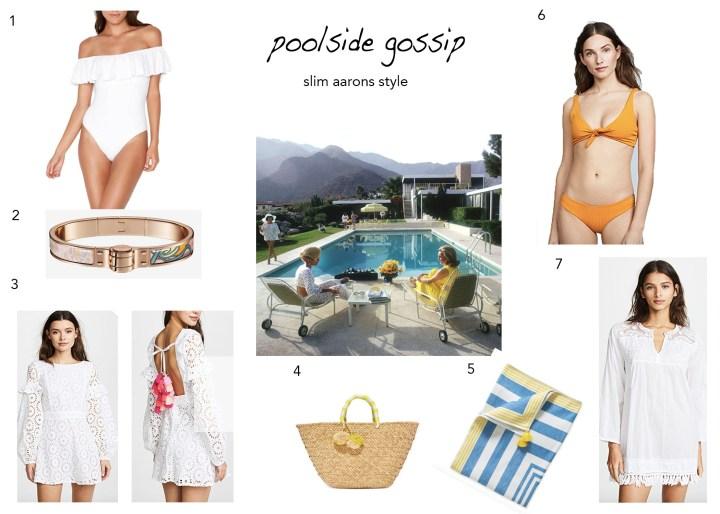 3-23 Poolside Gossip