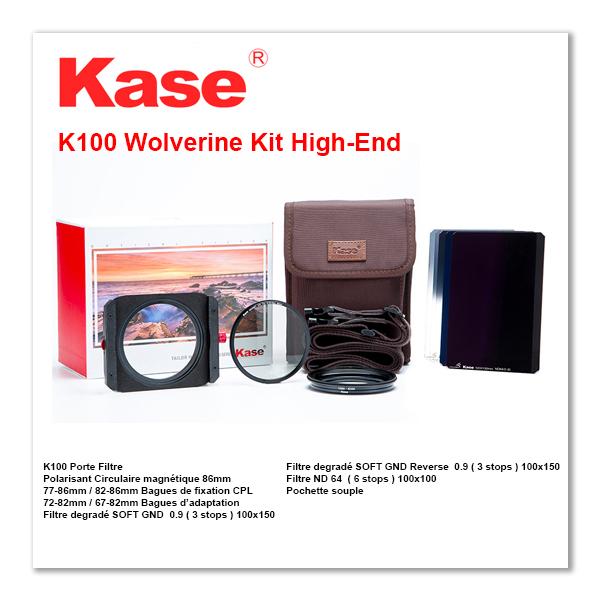 Kase K100 Wolverine Kit High-End