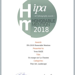 MENTION HONORABLE IPA 2018