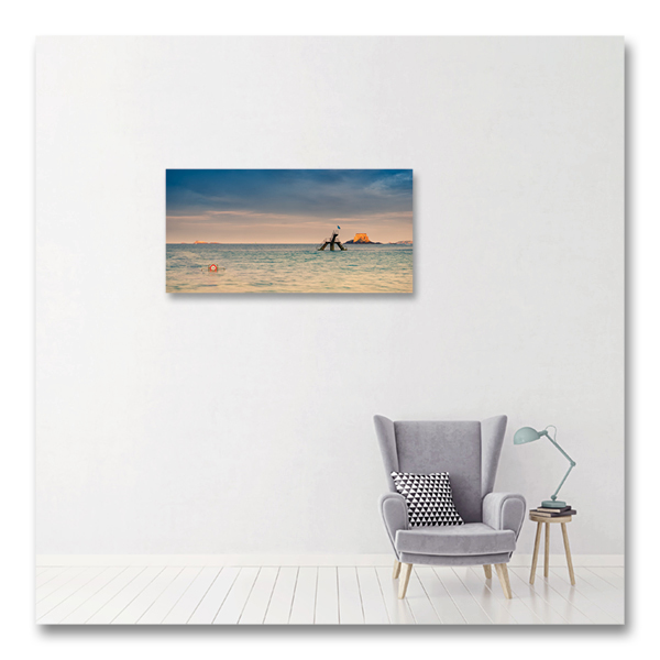 Interdit à la piscine de St Malo par Yvon HAZE