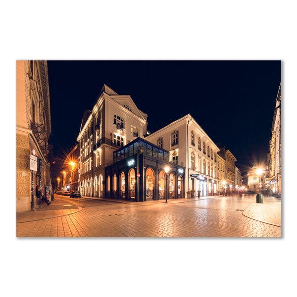 Floriańska Street by Night Cracovie