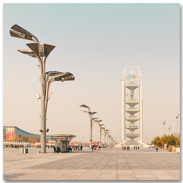 Olympic Tower Beijing par Yvon HAZE