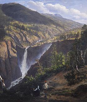 J.C.Dahl, Rjukanfossen 1830