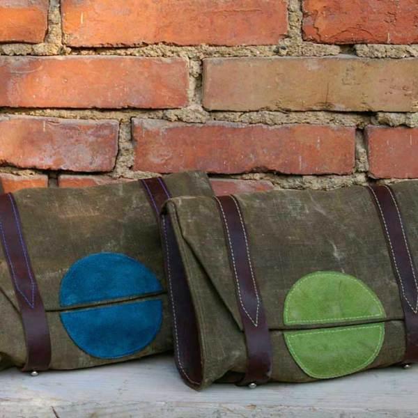 Handtasche Kreis