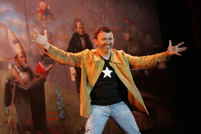 Tommy Tiernan, performing