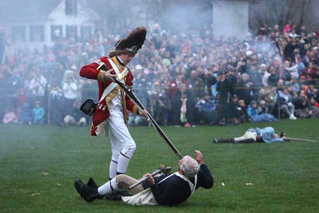 """I know it's odd to use this photo, of a gruesome re-enactment, as a """"harbinger of hope"""".  Read on."""