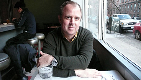 Gary Hustwit, as photographed in Dwell magazine