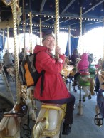 Ah the classic carousel... I was not the only big kid!