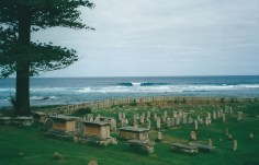 The convict cemetery
