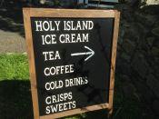 Holy Island blackbaorad