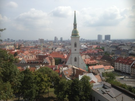 City view, Bratislava