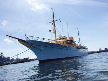 The Danish Royal yacht