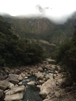 We started our hike to the Machu Picchu park entrance bright and early