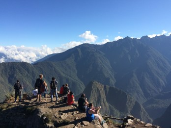 There is rarely a crowd on top of the 'Montaña'