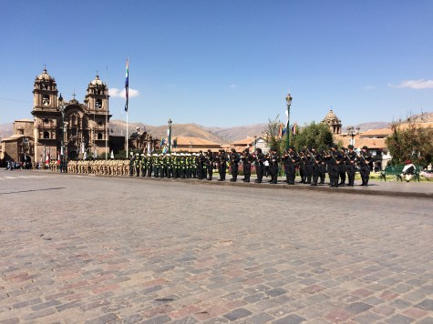 Commemorations of Peru's independance from the Spanish Crown