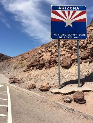 The Hoover Dam is half on Nevada and half on Arizona
