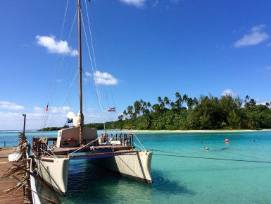 There's no shortage of paradise beaches in Rarotonga, but Muri Beach is one of the nicest ones
