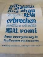 Air New Zealand's puke bags really embrace the Kiwi's peculiar sense of humor