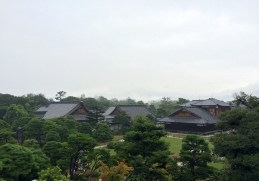 View from the inside of the Nijo Castle