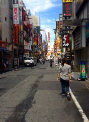 Kabukichō, the red light district, is pretty subdued during the day