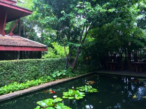 The Jim Thompson House is an oasis in the middle of Bangkok's mayhem