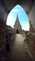 This Buddhist temple was built in the 17th century, following a Khmer style