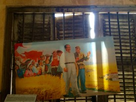 The Khmer Rouge regime sought to replicate Mao Zedong's agrarian utopia